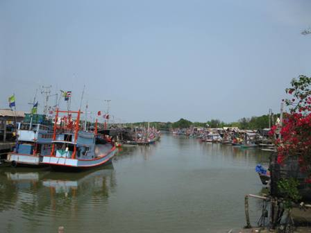 Thailand harbour